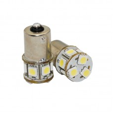 Lâmpada 8 LED SMD 1/2 Polo 1156