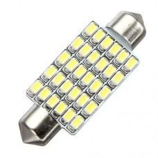 Lâmpada Torpedo 24 Led Smd 3020 1w 39mm Serve Em 36 E 42