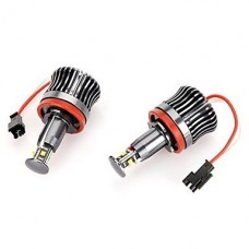 Kit Lampadas H8 Cree 20w Angel Eyes Bmw Canbus Branco 6000k