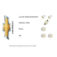Kit Lampadas Led Chevrolet Celta - Completo