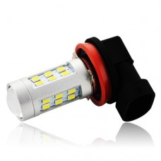 Lampada H8 21 Led Cree 3535 Neblina Milha Hb20 Ka Fox Up