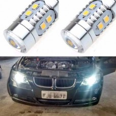 Par Lampadas 10 Led 2323 5000k Angel Eyes Bmw 320i 2006 2007