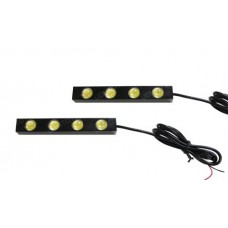 Daytime Running Lights Drl Lanterna 4 Led Neblina Dia 6w