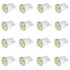 Kit 100pcs Lâmpada Pingo T10 8 LED SMD