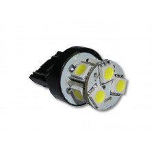 Lâmpada 8 LED SMD 1/2 Polo T20 7440